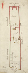 [Plan of property on Budge Row] 120 F